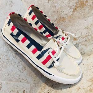 Sperry Patriotic Stripe Women's Boat Shoes
